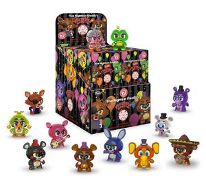FIVE NIGHTS AT FREDDY'S PIZZA SIMULATOR MINIFIGURA MYSTERY MINI 6CM BRILLA