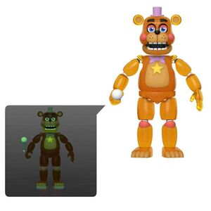 FIVE NIGHTS AT FREDDY'S PIZZA SIMULATOR FIG 13CM FREDDY (TRANSLUCIDO)