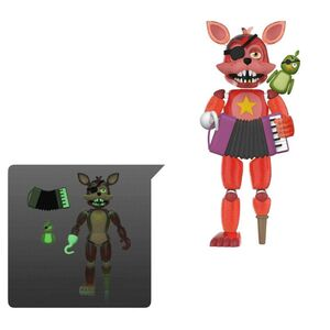 FIVE NIGHTS AT FREDDY'S PIZZA SIMULATOR FIG 13CM FOXY (TRANSLUCIDO)