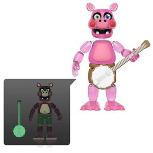 FIVE NIGHTS AT FREDDY'S PIZZA SIMULATOR FIG 13CM PIGPATCH (TRANSLUCIDO)