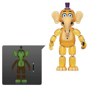 FIVE NIGHTS AT FREDDY'S PIZZA SIMULATOR FIG 13CM ORVILLE (TRANSLUCIDO)