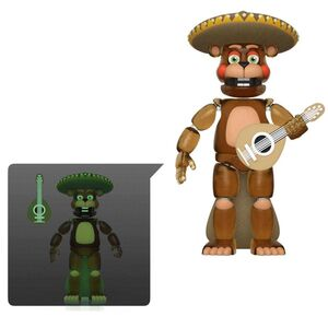 FIVE NIGHTS AT FREDDY'S PIZZA SIMULATOR FIG 13CM EL CHIP (TRANSLUCIDO)