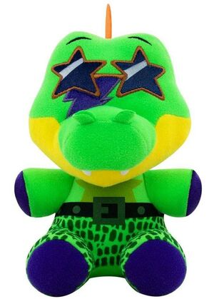 FIVE NIGHTS AT FREDDYS SECURITY BREACH PELUCHE 15CM MONTGOMERY GATOR