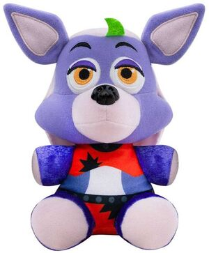 FIVE NIGHTS AT FREDDYS SECURITY BREACH PELUCHE 15CM ROXANNE WOLF