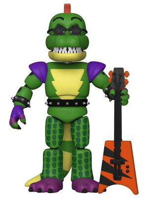 FIVE NIGHT AT FREDDYS SECURITY BREACH FIG 13CM MONTGOMERY GATOR