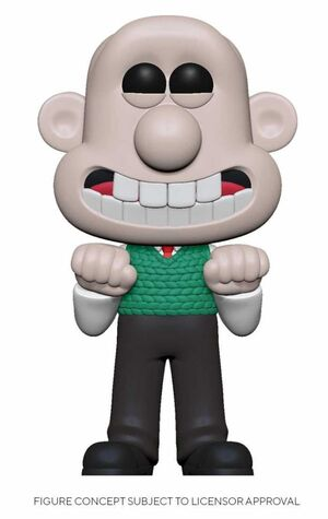 WALLACE & GROMIT FIG 9CM POP WALLACE