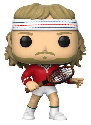 TENNIS LEGENDS FIG 9CM POP BJORN BORG
