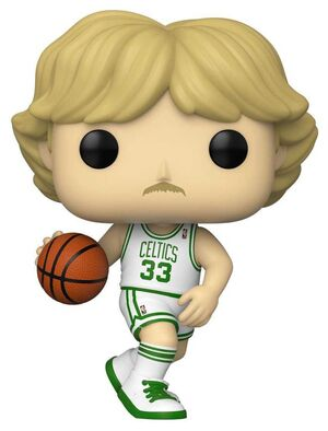 NBA LEGENDS FIG 9CM POP LARRY BIRD (CELTICS HOME)