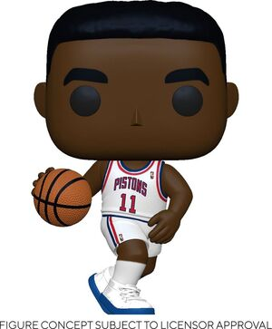NBA LEGENDS POP! SPORTS VINYL FIGURA ISIAH THOMAS (PISTONS HOME) 9 CM