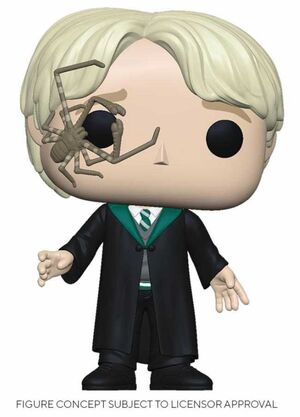 HARRY POTTER FIG 9CM POP MALFOY CON ARAÑA LATIGO