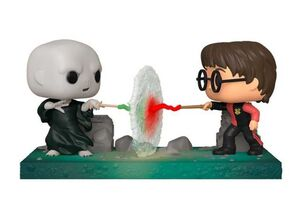 HARRY POTTER FIG 9CM POP MOMENTS HARRY VS VOLDEMORT