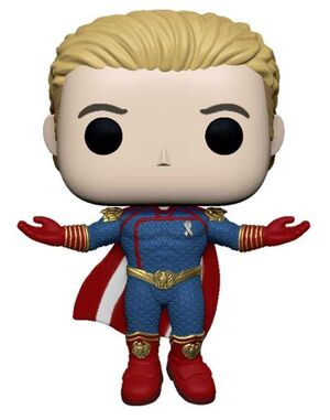 THE BOYS FIG 9CM POP HOMELANDER LEVITANDO