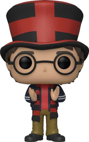 HARRY POTTER FIG 9CM POP HARRY EN LA WORLD CUP ED. ESPECIAL