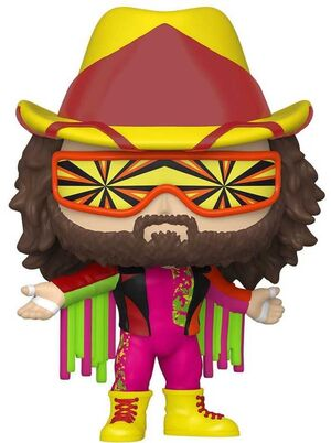 WWE FIG 9CM POP MACHO MAN RANDY SAVAGE