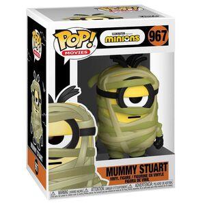 MINIONS FIGURA 9 CM MUMMY STUART POP! MOVIES FUNKO 967
