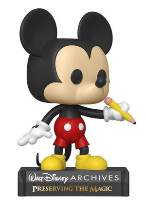 MICKEY MOUSE FIG 9CM POP CLASSIC MICKEY