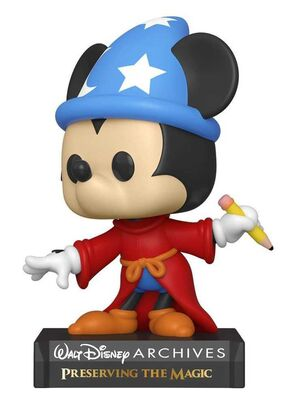 MICKEY MOUSE FIG 9CM POP SORCERER MICKEY