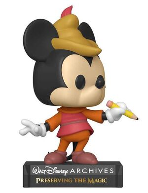 MICKEY MOUSE FIG 9CM POP BEANSTALK MICKEY