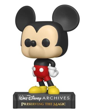 MICKEY MOUSE FIG 9CM POP MICKEY MOUSE