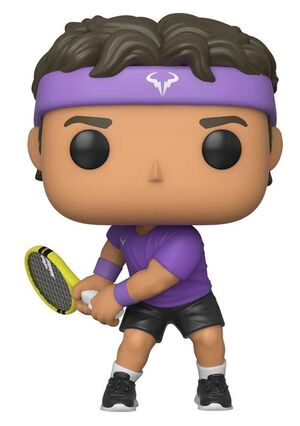 TENNIS LEGENDS FIG 9CM POP RAFAEL NADAL