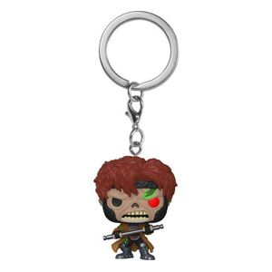 MARVEL ZOMBIES LLAVERO POCKET POP! VINYL ZOMBIE GAMBIT 4 CM