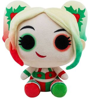 DC HOLIDAY PELUCHE 18CM POP HOLLY QUINN
