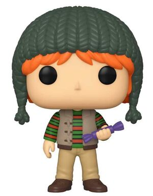 HARRY POTTER HOLIDAY FIG 9CM POP RON WEASLEY