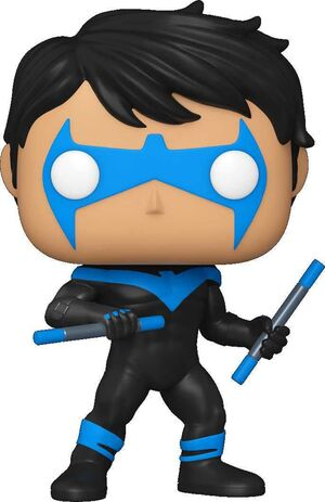 NIGHTWING FIG 9CM POP NIGHTWING ED. ESPECIAL