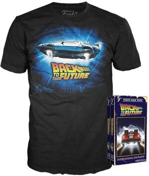 REGRESO AL FUTURO CAMISETA POP BACK TO THE FUTURE L