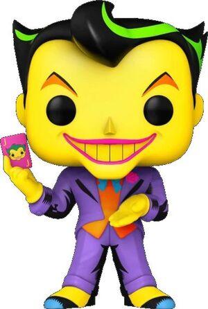 BATMAN POP! COMIC VINYL FIGURA JOKER BLACK LIGHT 9CM