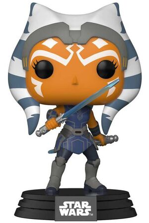 STAR WARS CLONE WARS FIG 9CM POP AHSOKA