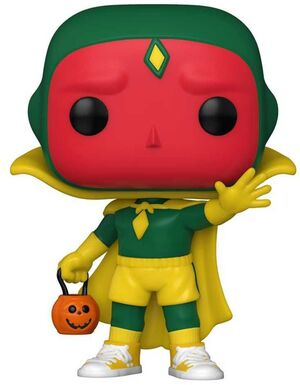 WANDAVISION FIG 9CM POP VISION (HALLOWEEN)