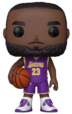 NBA FIG 25CM POP LEBRON JAMES CON CAMISETA PURPURA