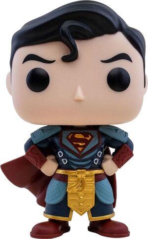 DC IMPERIAL PALACE FIGURA POP! HEROES VINYL SUPERMAN 9 CM