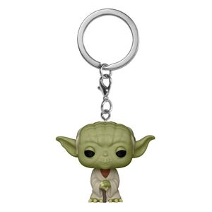 STAR WARS LLAVERO POCKET POP! VINYL YODA 4 CM