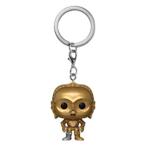 STAR WARS LLAVERO POCKET POP! VINYL C3PO 4 CM