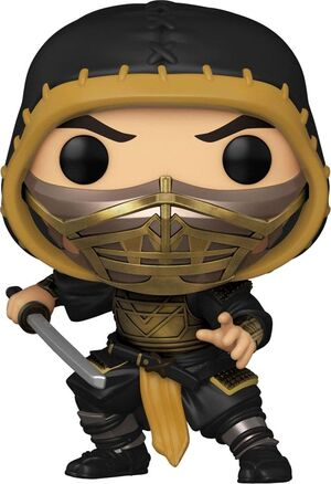 MORTAL KOMBAT MOVIE POP! MOVIES VINYL FIGURA SCORPION 9 CM