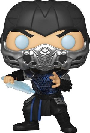 MORTAL KOMBAT MOVIE POP! MOVIES VINYL FIGURA SUB-ZERO 9 CM