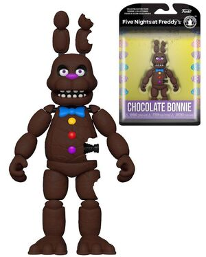 FIVE NIGHTS AT FREDDY'S FIGURA CHOCOLATE BONNIE 13 CM