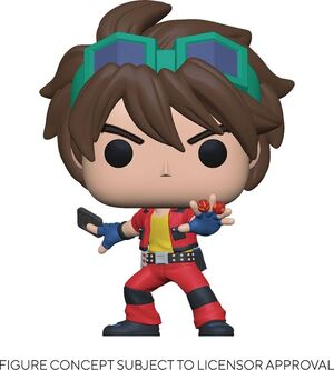 BAKUGAN FIGURA POP! ANIMATION VINYL DAN 9 CM