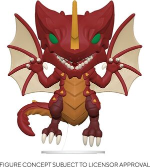 BAKUGAN FIGURA POP! ANIMATION VINYL DRAGO 9 CM