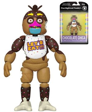 FIVE NIGHTS AT FREDDY'S FIGURA CHOCOLATE CHICA 13 CM