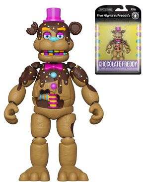 FIVE NIGHTS AT FREDDY'S FIGURA CHOCOLATE FREDDY 13 CM