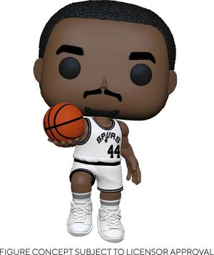 NBA LEGENDS POP! SPORTS VINYL FIGURA GEORGE GERVIN (SPURS HOME) 9 CM