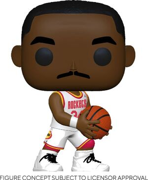 NBA LEGENDS POP! SPORTS VINYL FIGURA HAKEEM OLAJUWON (ROCKETS HOME) 9 CM