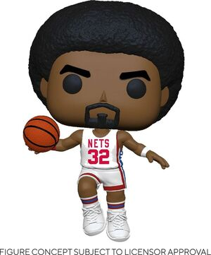 NBA LEGENDS POP! SPORTS VINYL FIGURA JULIUS ERVING (NETS HOME) 9 CM