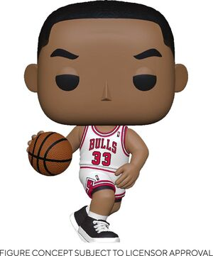NBA LEGENDS POP! SPORTS VINYL FIGURA SCOTTIE PIPPEN (BULLS HOME) 9 CM