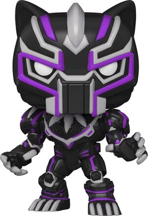 MARVEL MECH FIGURA POP! VINYL BLACK PANTHER 9 CM