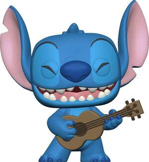 LILO & STITCH POP! DISNEY VINYL FIGURA STITCH W/UKELELE 9 CM