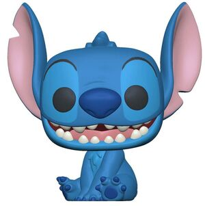 LILO & STITCH FIGURA SUPER SIZED JUMBO POP! GAMES VINYL STITCH 25 CM